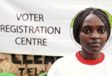 A Kenyan woman waits to register as a voter on the last day of registration in capital Nairobi December 18, 2012.  REUTERS/Noor Khamis