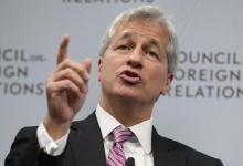 JPMorgan CEO Jamie Dimon speaks about the state of the global economy at a forum hosted by the Council on Foreign Relations in Washington October 10, 2012. REUTERS/Yuri Gripas