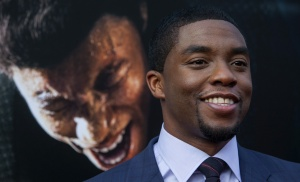 Actor Chadwick Boseman attends the premiere of 'Get on Up' in New York July 21, 2014. REUTERS/Eric Thayer