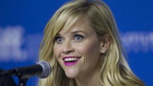 "Actress Reese Witherspoon attends a news conference to promote the film ""Wild"" at the Toronto International Film Festival (TIFF) in Toronto, September 8, 2014. REUTERS/Fred Thornhill"