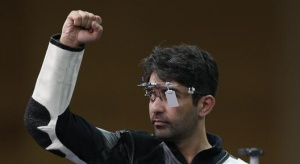 File photo of Abhinav Bindra in Glasgow, Scotland, July 25, 2014. REUTERS/Russell Cheyne/Files
