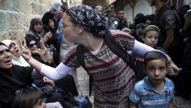 Jerusalem battle between religious factions