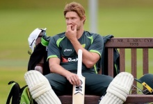 Cricket - Australia Nets - Edgbaston - 28/7/15. Australia's Shane Watson during a training session. Action Images via Reuters / Philip Brown. Livepic