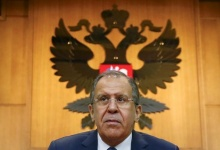 Russian Foreign Minister Sergei Lavrov leaves after giving a news conference in Moscow, Russia, January 26, 2016. REUTERS/Maxim Shemetov
