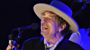 U.S. musician Bob Dylan performs during on day 2 of The Hop Festival in Paddock Wood, Kent on June 30th 2012. REUTERS/ Ki Price/Files