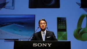 Sony Corp's President and Chief Executive Officer Kazuo Hirai speaks during its corporate strategy meeting at the company's headquarters in Tokyo, Japan June 29, 2016.  REUTERS/Toru Hanai