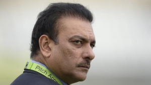 Ravi Shastri looks on before the third one-day international cricket match against England at Trent Bridge cricket ground, Nottingham, England August 30, 2014. REUTERS/PHILIP BROWN/FILES
