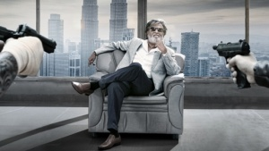 Handout picture of Rajinikanth in 'Kabali'