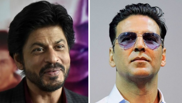 A combination picture of Shah Rukh Khan (L) and Akshay Kumar. REUTERS