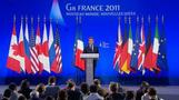 G8 leaders meet in France