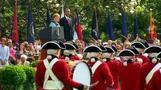 Obama welcomes Merkel