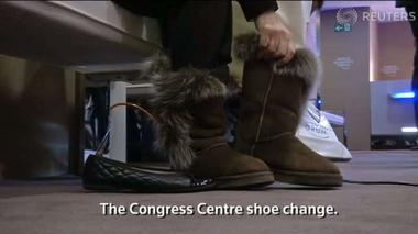The shoes at WEF Davos - Rough Cuts