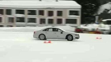 Losing Grip in Davos: The Audi Driving Experience