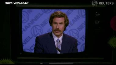 Anchorman 2: Ron Burgundy, international news man - Media Bite