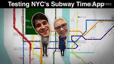 On track? Testing MTA's Subway Time app - Tech Tonic