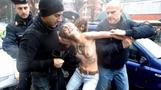 Reuters Today: Bare breasts and protests in Italy