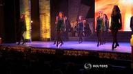 Michelle Obama enjoys 'Riverdance' in Dublin