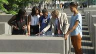Obama family visits German Holocaust memorial