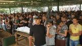 Mourners grieve at funerals for Tripoli bomb victims