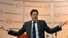 "UK's Clegg: Threat of ""Brexit"" no way to negotiate"