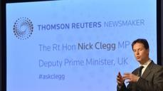 "UK's Clegg: Financial transaction tax is ""silly"""