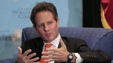 NEWSMAKER: Geithner: We got economy growing in 6 months