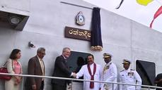 Australian government hands navy boats to Sri Lanka