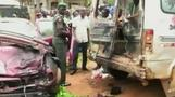 Nigeria suicide bombs kill at least 82 people