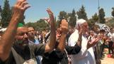 Gaza fighting eases as Muslims mark Eid