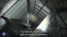 "Israeli military releases video of so-called ""terror tunnel"" entrance"