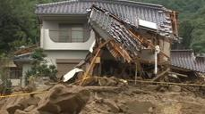 Rain hampers landslide rescue in Japan