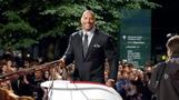 Dwayne 'The Rock' Johnson promises to lay the smackdown on Downey Jr.