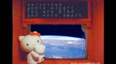 Hello Kitty conquers space