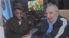 Young Fidel fan meets his idol