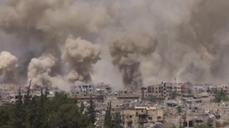 Explosions rock Damascus suburb