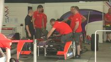 Teams and fans get ready for the first Formula E race in Beijing