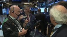 Dow touches record ahead of Fed vote