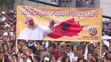 Pope condemns Islamist militants