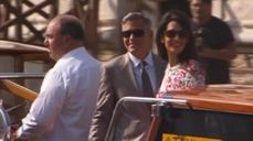 Newly-weds Clooney and Alamuddin in Venice