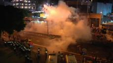 Tear gas and defiance in Hong Kong