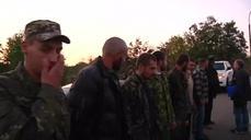 Prisoner swap in eastern Ukraine