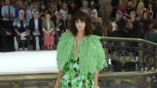 A forest grows under Galliano at Paris Fashion Week