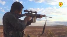 Rebel fighters target Islamic State, airstrikes intensify