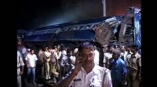 12 dead after trains crash in India