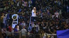 Hong Kong protest leaders repeat calls for electoral reform