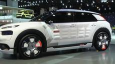 Citroen concept car uses compressed air to cut fuel consumption