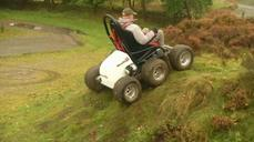 HexHog off-road wheelchair helps disabled tame tough terrain