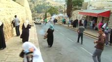 Israeli security forces clash with Palestinians in Jerusalem's Old City