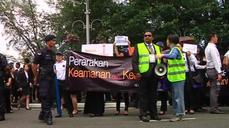 Lawyers in Malaysia protest against Sedition Act