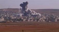 Huge explosions rock Kobani